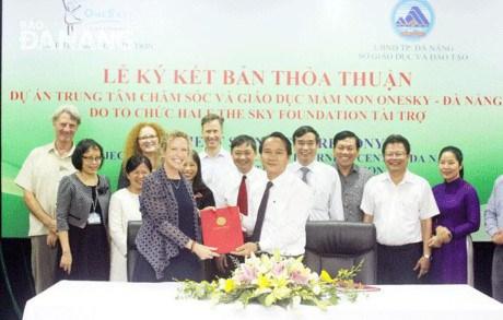 Half the Sky finance un centre de soins des enfants defavorises a Da Nang hinh anh 1