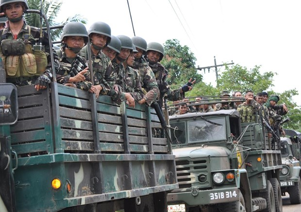 Philippines : Abu Sayyaf relache dix otages indonesiens hinh anh 1