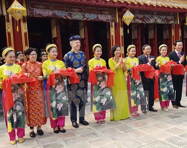Inauguration du Temple Trieu To Mieu apres restauration hinh anh 1