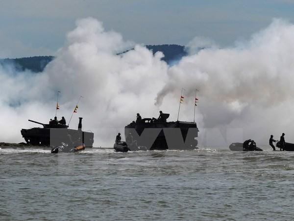 Debut de l'exercice militaire de l'ADMM+ au Brunei hinh anh 1