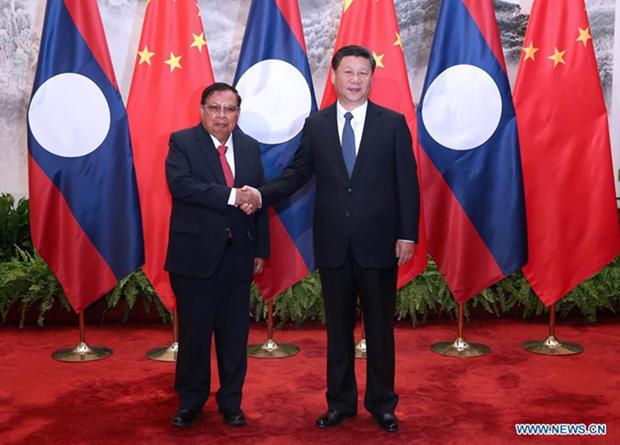 Chine et Laos dynamisent leurs relations de cooperation hinh anh 1