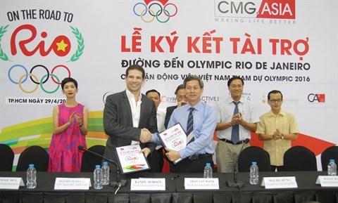 Des sportifs saigonnais sponsorises pour les prochains Jeux Olympiques hinh anh 1