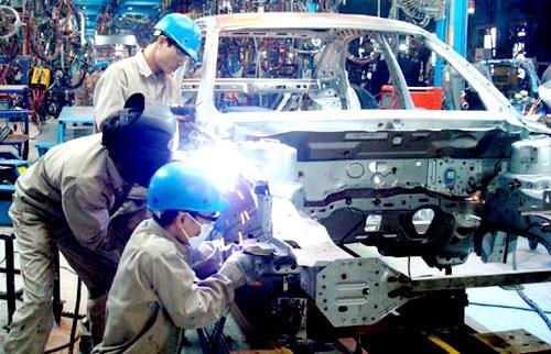 Avril : hausse de 7,9% de l'indice de production industrielle hinh anh 1