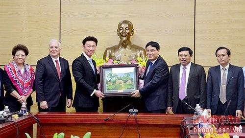 Un groupe thailandais investira dans la construction de zones industrielles au Centre hinh anh 1