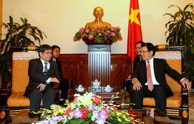 Vietnam-Cambodge : 5e consultation politique au niveau de vice-ministre des AE hinh anh 2