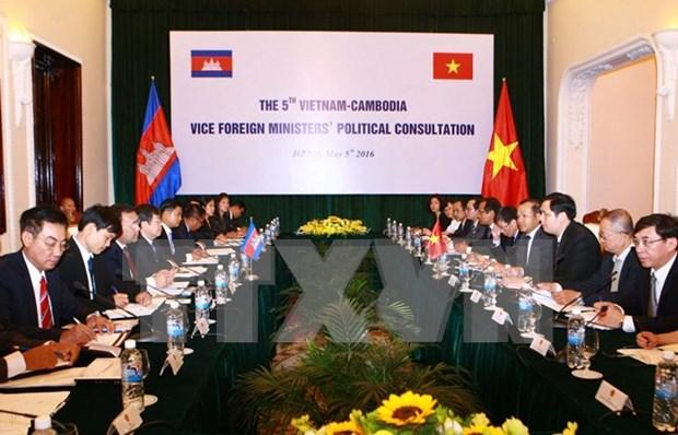 Vietnam-Cambodge : 5e consultation politique au niveau de vice-ministre des AE hinh anh 1
