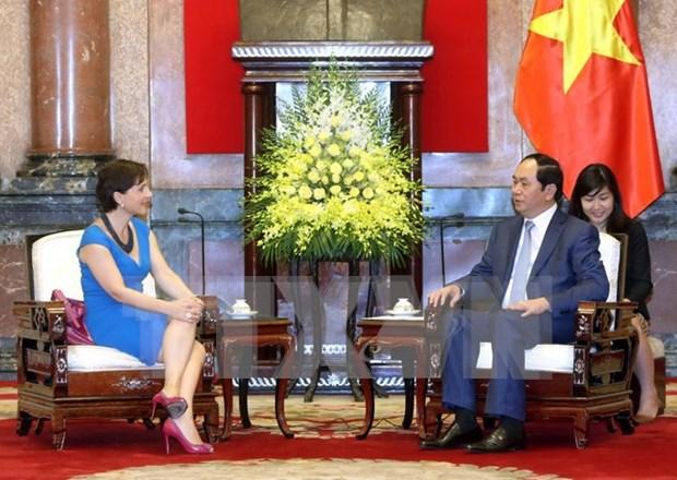 Vietnam-Italie : les echanges commerciaux portes a 5 milliards de dollars en 2016 hinh anh 1