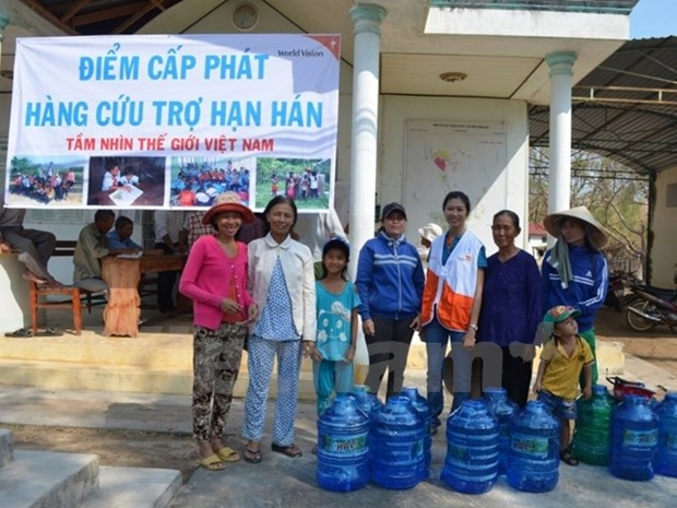 World Vision aide Binh Thuan a attenuer les consequences de la secheresse hinh anh 1