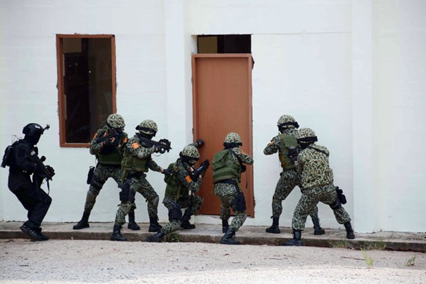 Exercice ADMM+ : simulation d'attaque terroriste a Singapour hinh anh 1