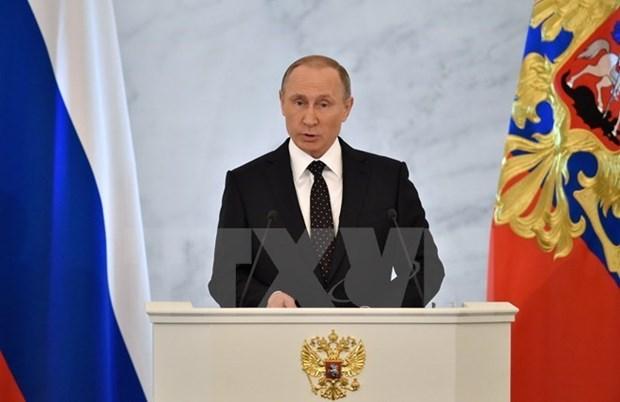 La Russie prete a etablir un partenariat strategique avec l'ASEAN (Poutine) hinh anh 1