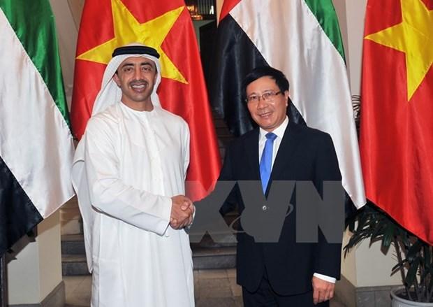 Le PM vietnamien plaide pour le renforcement de la cooperation avec les EAU hinh anh 2