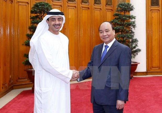 Le PM vietnamien plaide pour le renforcement de la cooperation avec les EAU hinh anh 1