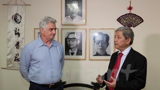 Un Israelien vecteur du Vinh Xuan Vietnam hinh anh 1