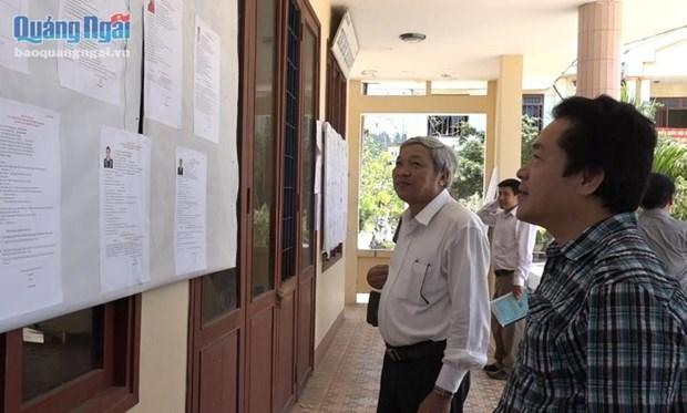 Elections : le district insulaire de Ly Son est pret pour le jour J hinh anh 1
