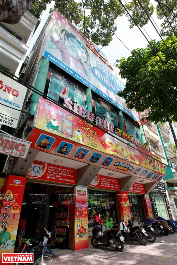 Cho Lon, leader national des jouets en plastique hinh anh 2