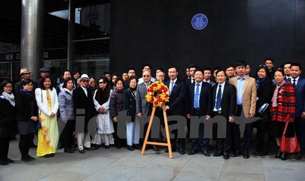 L'anniversaire du President Ho Chi Minh celebre au Royaume-Uni hinh anh 1