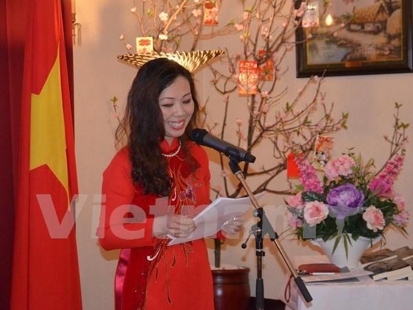 Celebration du 126eme anniversaire du president Ho Chi Minh au Canada et en R. tcheque hinh anh 1