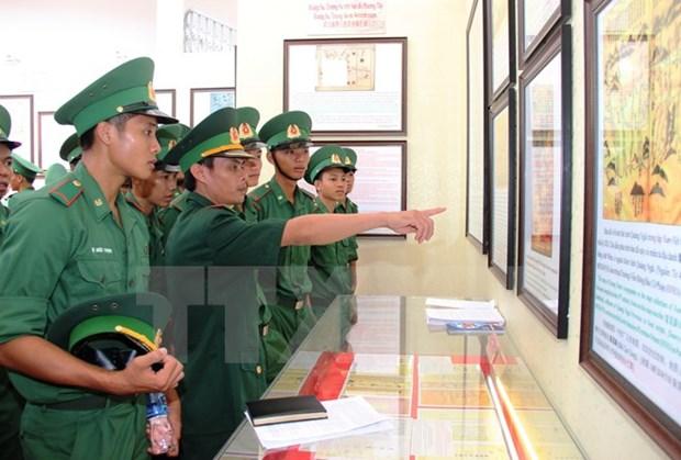 Exposition de cartes et d'archives sur Hoang Sa et Truong Sa a Tay Ninh hinh anh 1