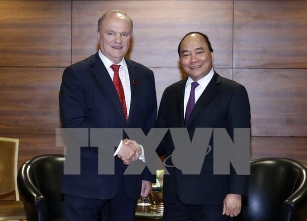 Activites du Premier ministre Nguyen Xuan Phuc en Russie hinh anh 1