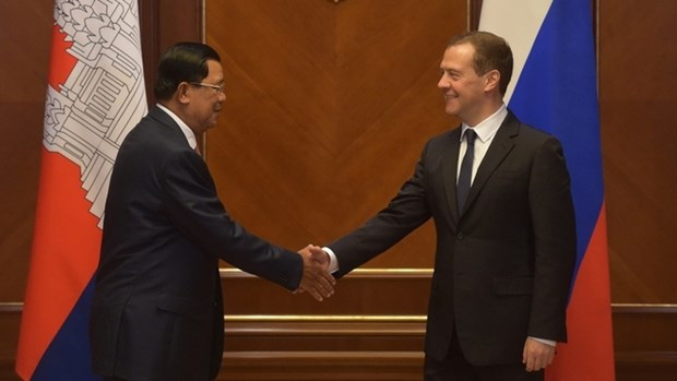 La Russie et le Cambodge signent huit accords de cooperation hinh anh 1
