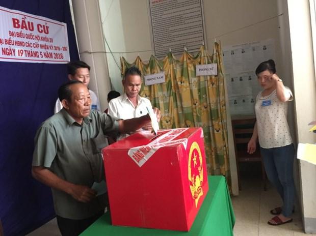 Elections anticipees dans les provinces de Kien Giang et de Quang Nam hinh anh 1