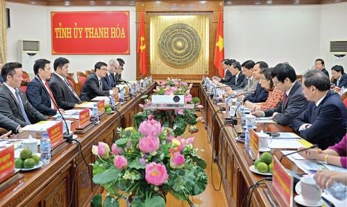 Thanh Hoa deroule le tapis rouge aux investisseurs etrangers hinh anh 1
