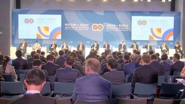 Forum d'affaires ASEAN-Russie en Russie hinh anh 1