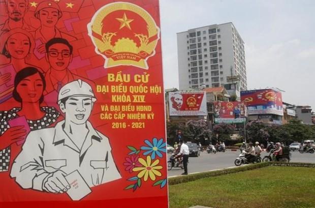La presse internationale couvre les elections legislatives et locales au Vietnam hinh anh 1