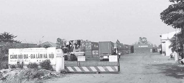 Co Bi, nouveau depot interieur pour conteneurs a Hanoi hinh anh 1