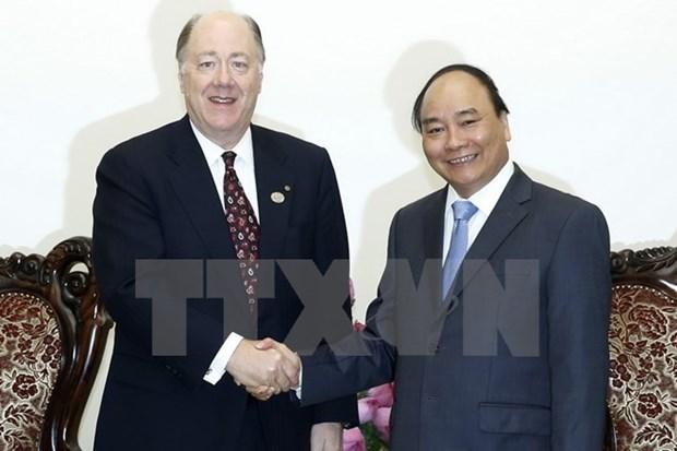 Le PM plaide pour la promotion des liens multiformes avec les Etats-Unis hinh anh 1