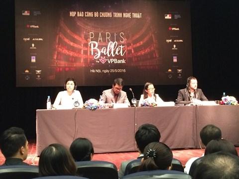 Les etoiles de l'Opera de Paris bientot a Hanoi hinh anh 1