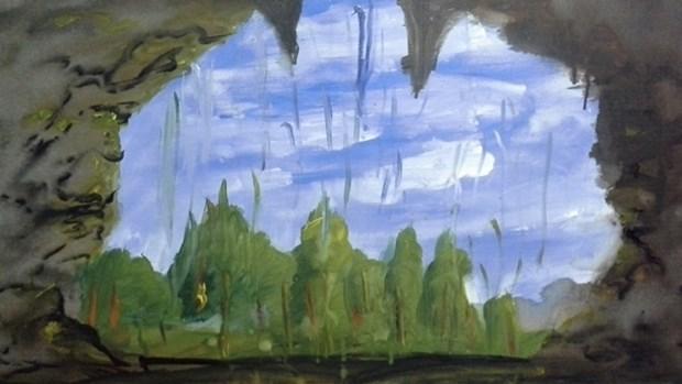 Exposition de peintures d'enfants a Hanoi hinh anh 1