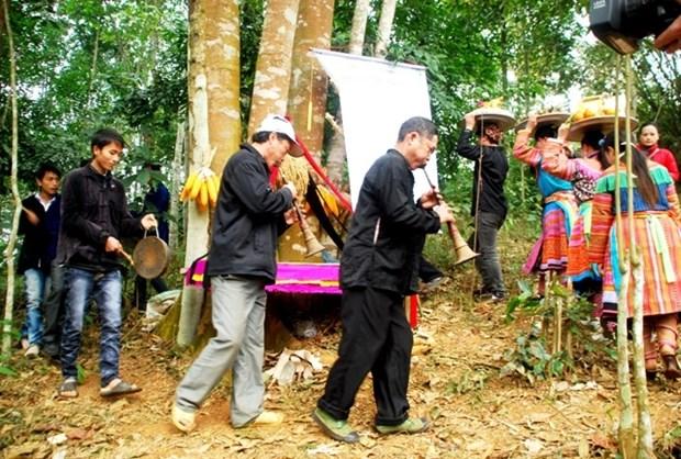 Le culte dedie au genie de la foret des ethnies de Lao Cai hinh anh 1