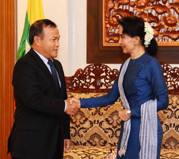 Renforcement des relations diplomatiques Vietnam-Myanmar hinh anh 1