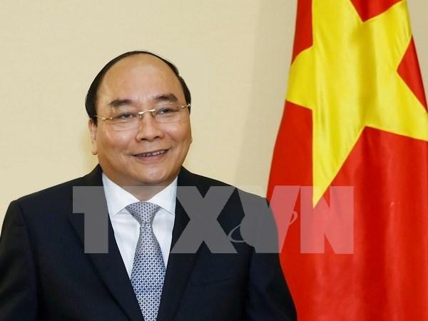Le Premier ministre Nguyen Xuan Phuc au Sommet du G7 elargi hinh anh 1