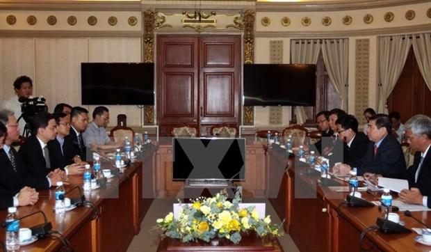 Singapour souhaite construire un parc d'innovation a Ho Chi Minh-Ville hinh anh 1