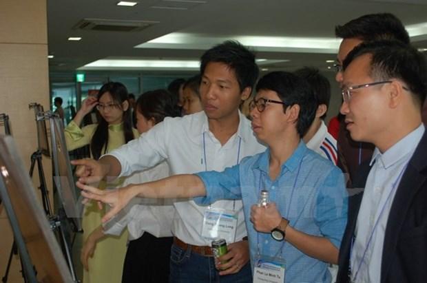 Conference des jeunes scientifiques vietnamiens a Seoul hinh anh 1