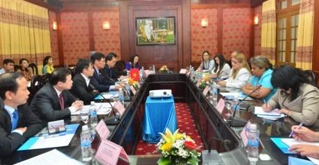 Vietnam et Cuba promeuvent leur cooperation judiciaire hinh anh 1