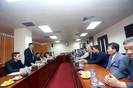 Une delegation du syndicat de Seoul en visite au Vietnam hinh anh 1