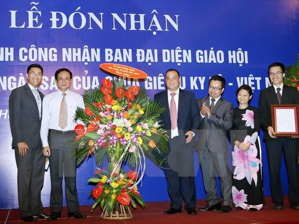Reconnaissance du Comite representatif du Mormonisme du Vietnam hinh anh 1