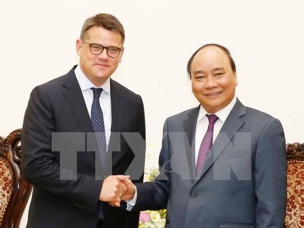 Nguyen Xuan Phuc recoit le ministre des Sciences et des Arts du Land de Hesse hinh anh 1