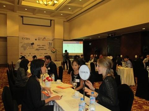 Rencontre entre grandes societes et PME a Ho Chi Minh-Ville hinh anh 1