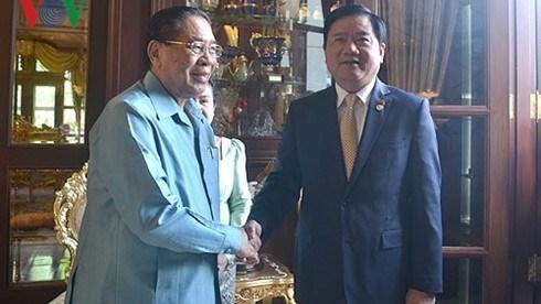 Ho Chi Minh-Ville fait tout son possible pour renforcer sa cooperation avec le Laos hinh anh 1