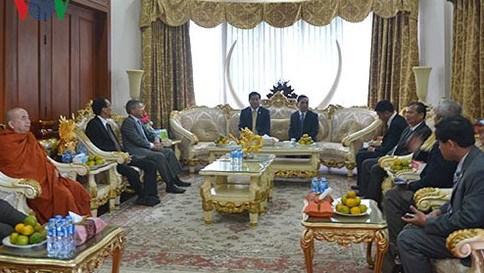 Ho Chi Minh-Ville fait tout son possible pour renforcer sa cooperation avec le Laos hinh anh 2