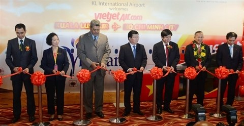 Vietjet ouvre la ligne Ho Chi Minh-Ville - Kuala Lumpur hinh anh 1