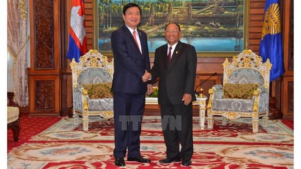 Ho Chi Minh-Ville fait tout son possible pour renforcer ses relations avec le Cambodge hinh anh 1