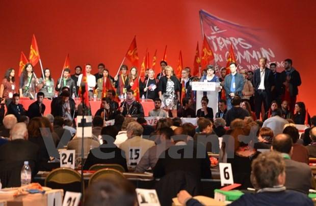 Une delegation du PCV au 37e congres du Parti communiste francais hinh anh 1