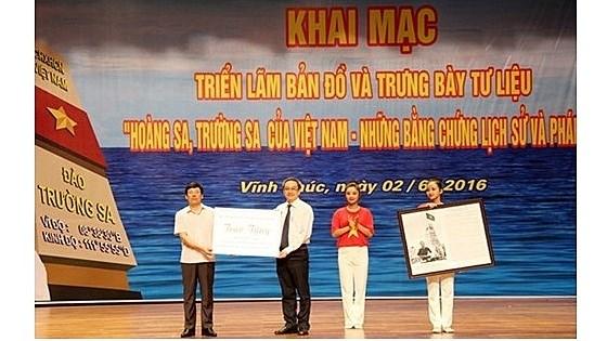 Vinh Phuc : exposition sur Hoang Sa, Truong Sa du Vietnam hinh anh 1