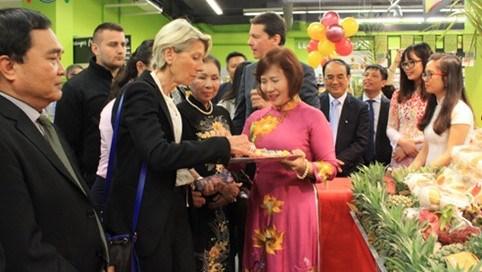 Semaine des produits vietnamiens a Lyon, France hinh anh 1