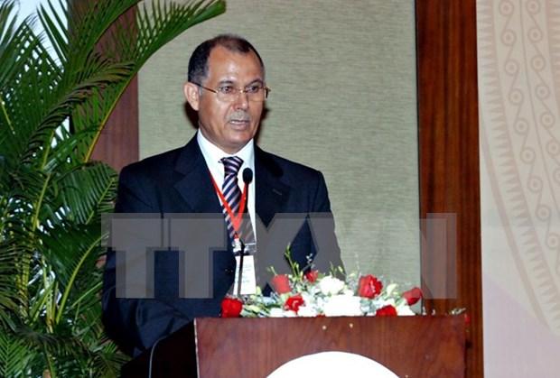 L'Insigne pour la paix et l'amitie entre les nations a l'ambassadeur marocain hinh anh 1